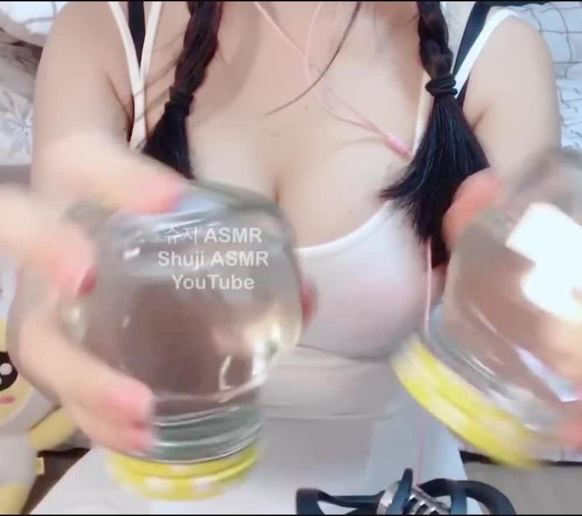 韩国主播小姐姐Shuji ASMR噗噜噗噜的水声手部按摩视频